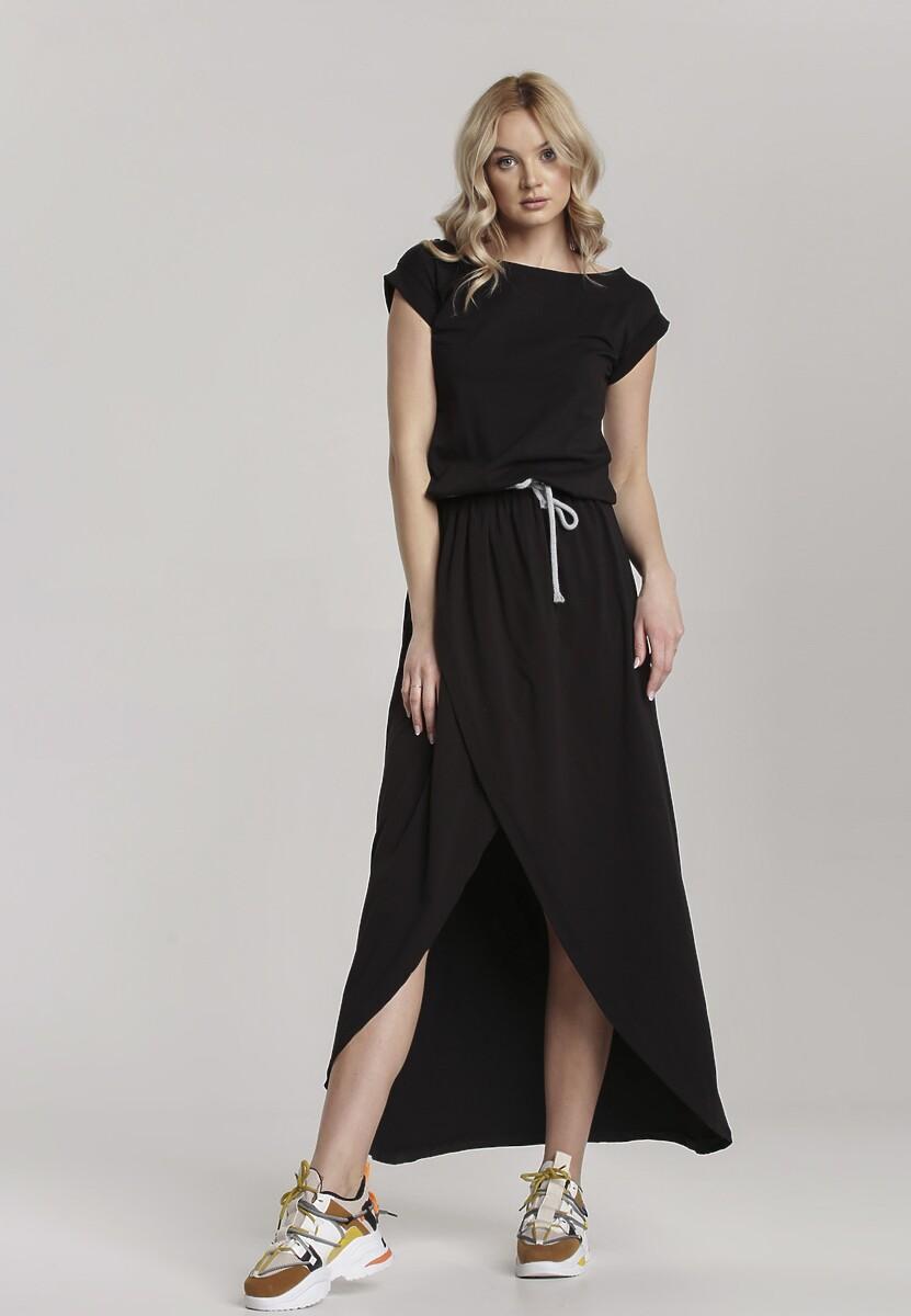 Czarna Sukienka Aegatune Kod produktu: 115210