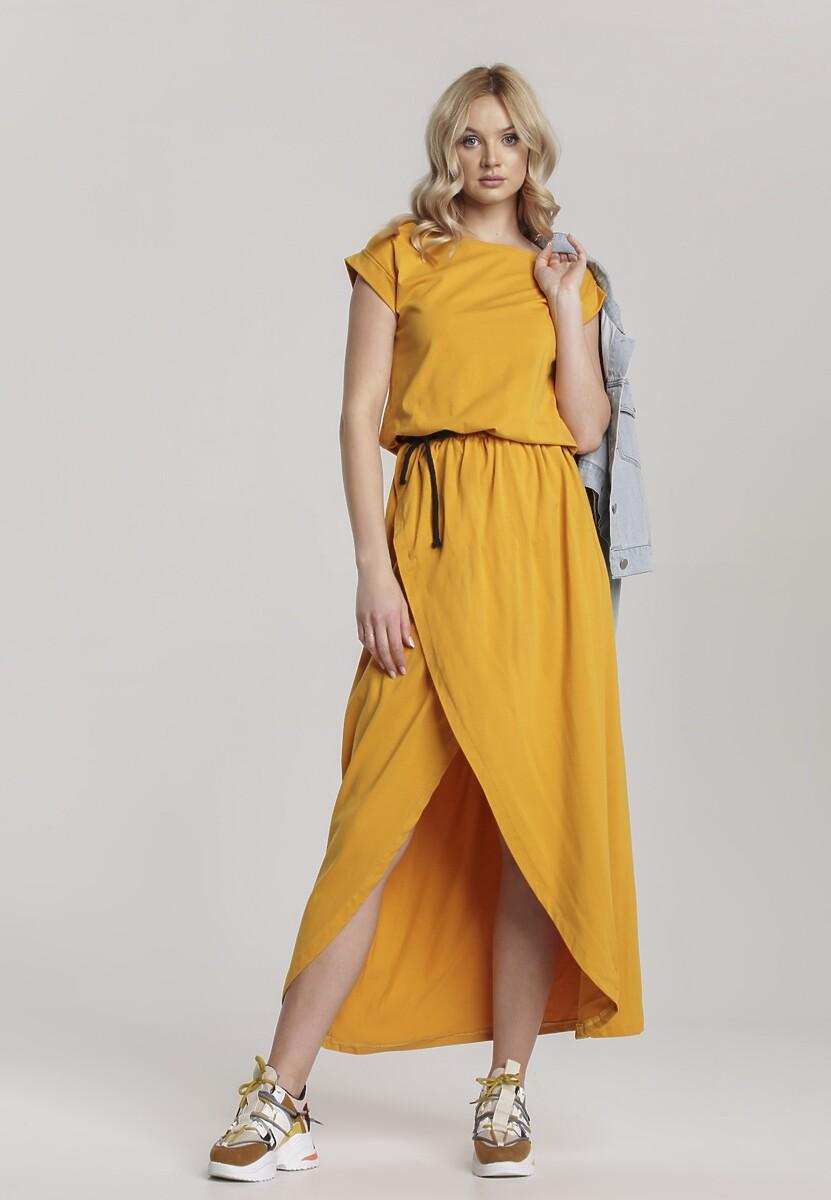 Żółta Sukienka Aegatune Kod produktu: 115213