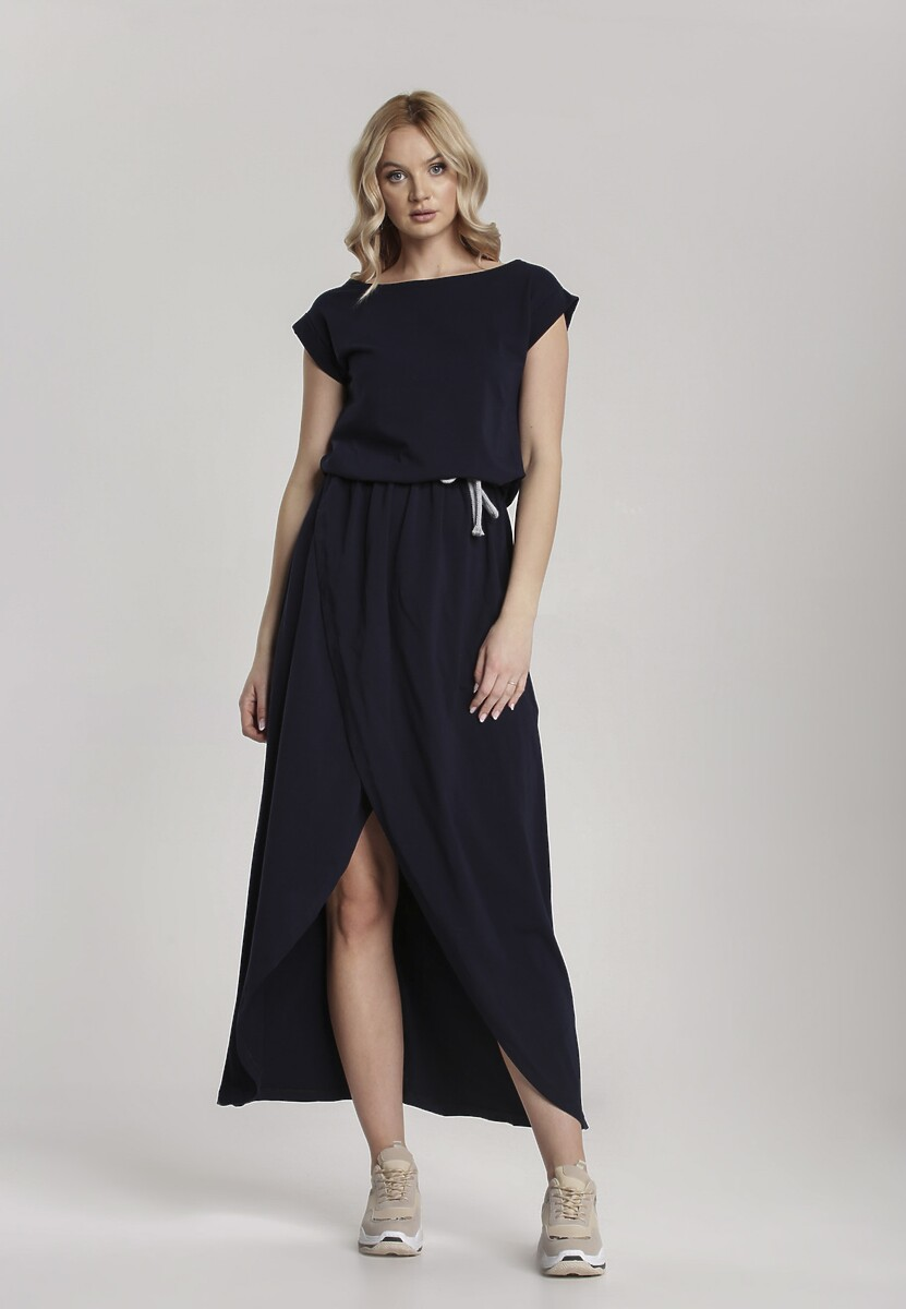 Granatowa Sukienka Aegatune Kod produktu: 115214