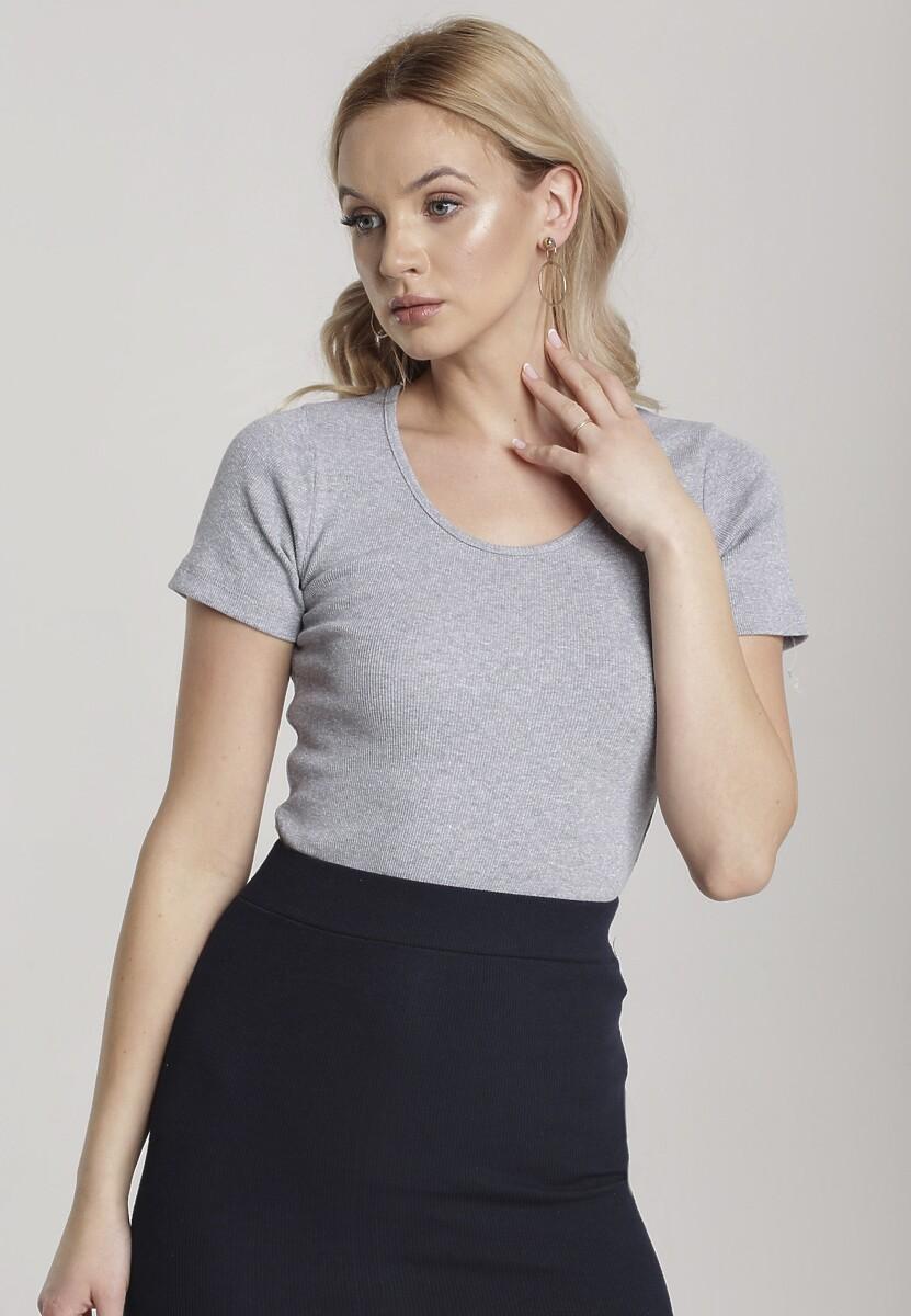 Szary T-shirt Nahlle Kod produktu: 115379