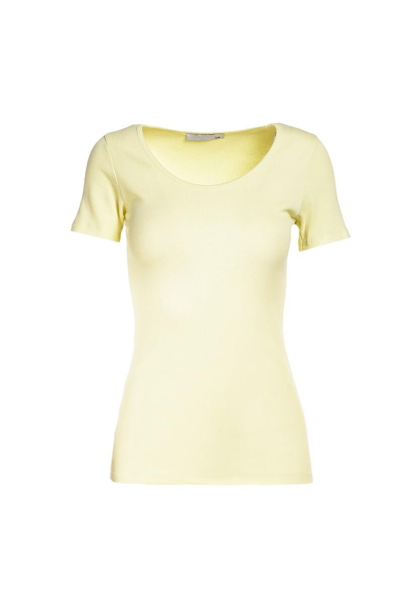 Żółty T-shirt Nahlle