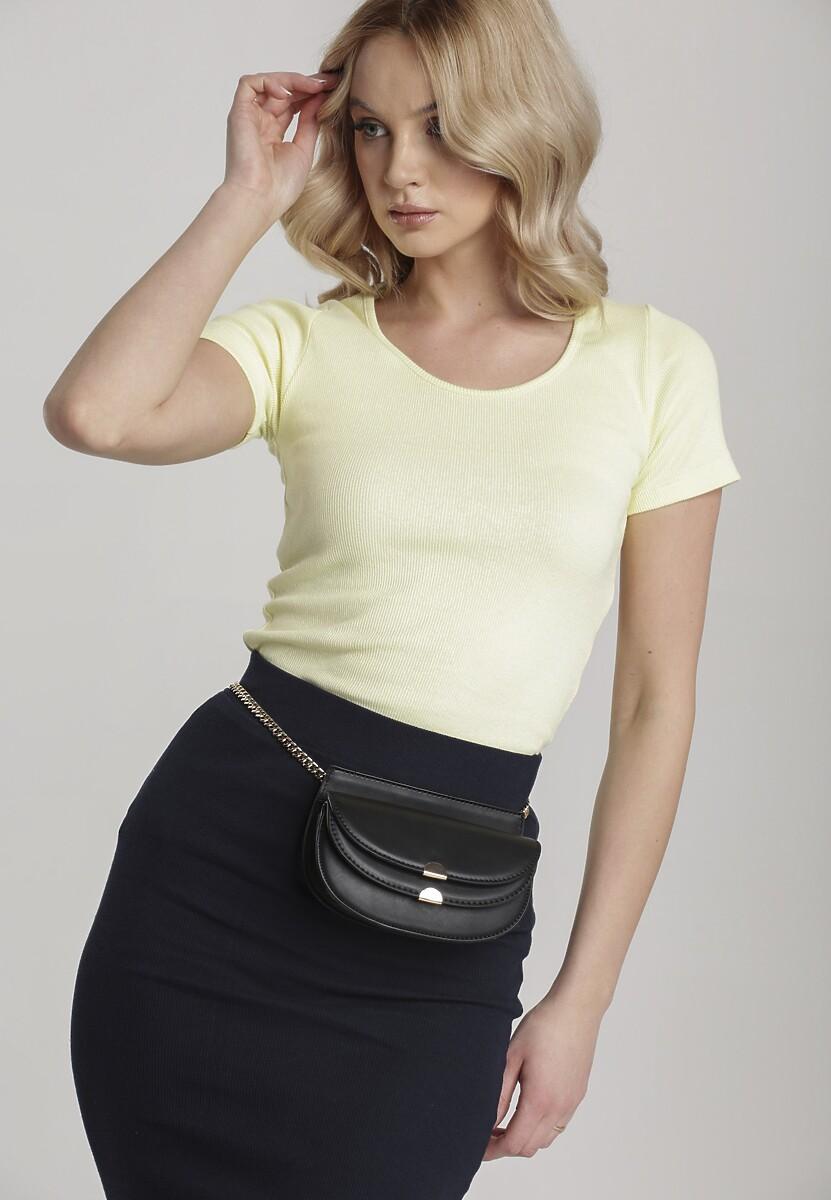 Żółty T-shirt Nahlle Kod produktu: 115389