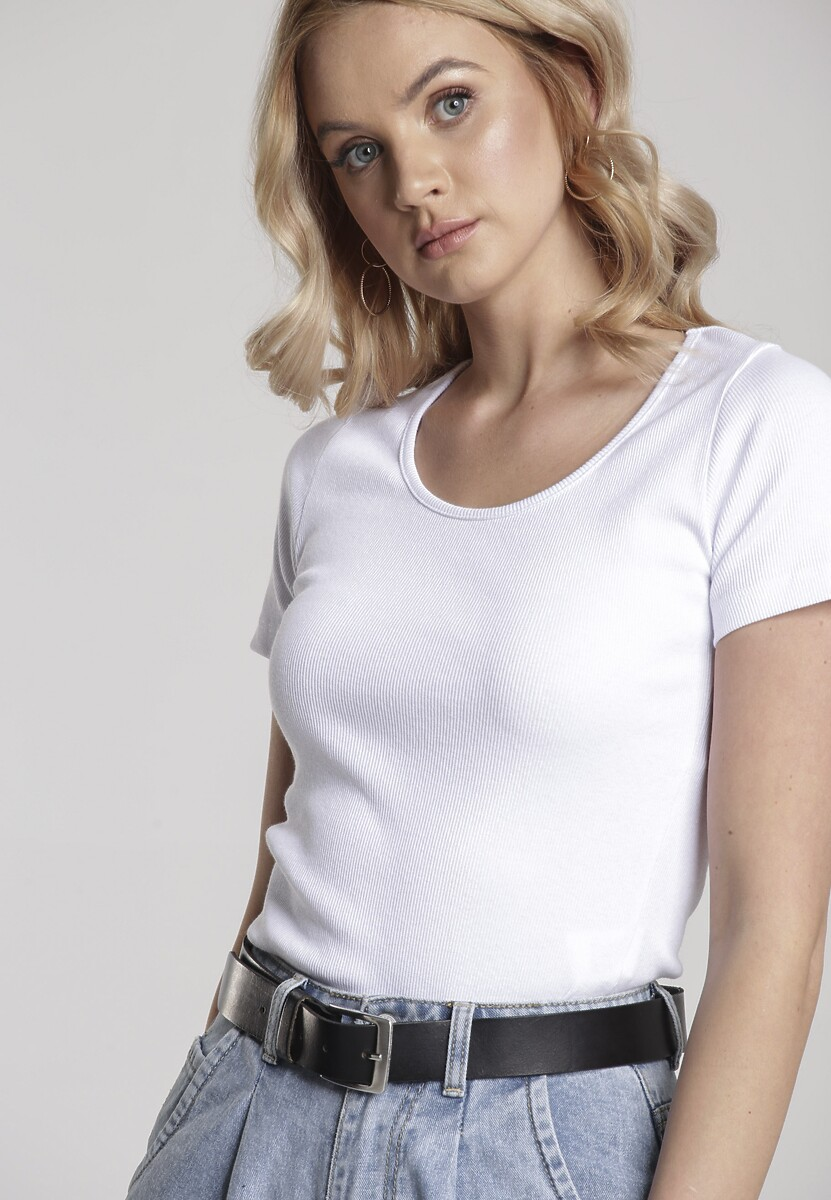 Biały T-shirt Nahlle