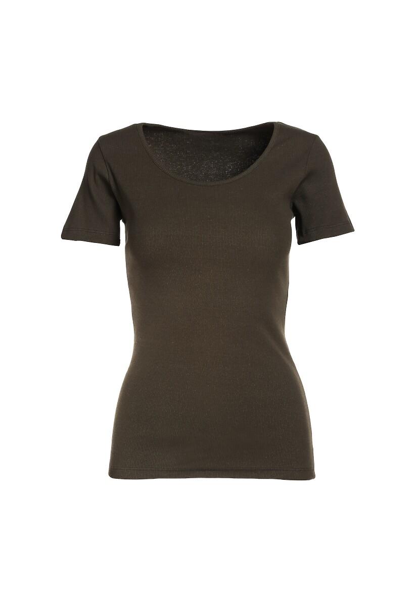 Ciemnozielony T-shirt Nahlle