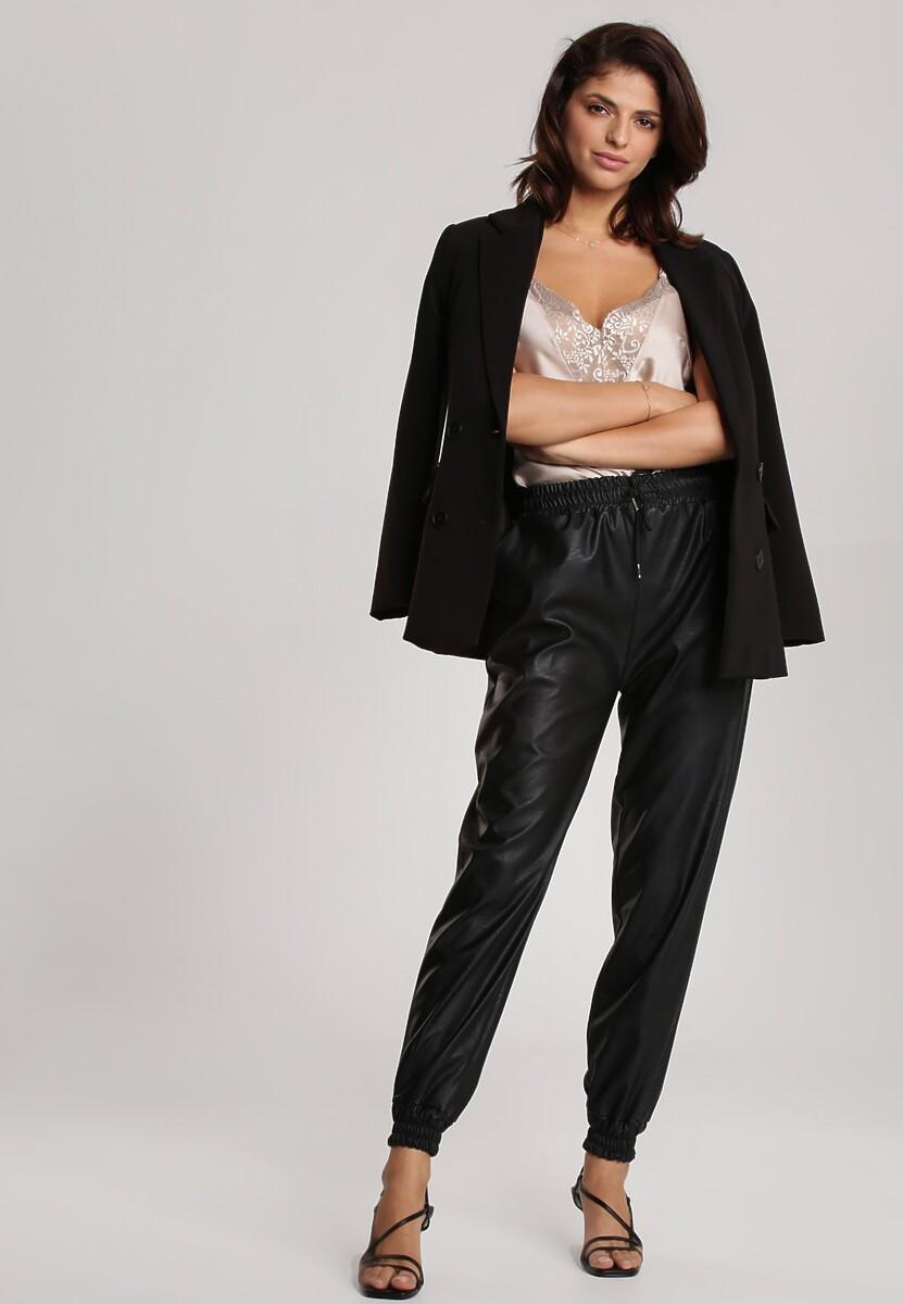 Czarne Spodnie Delorissa