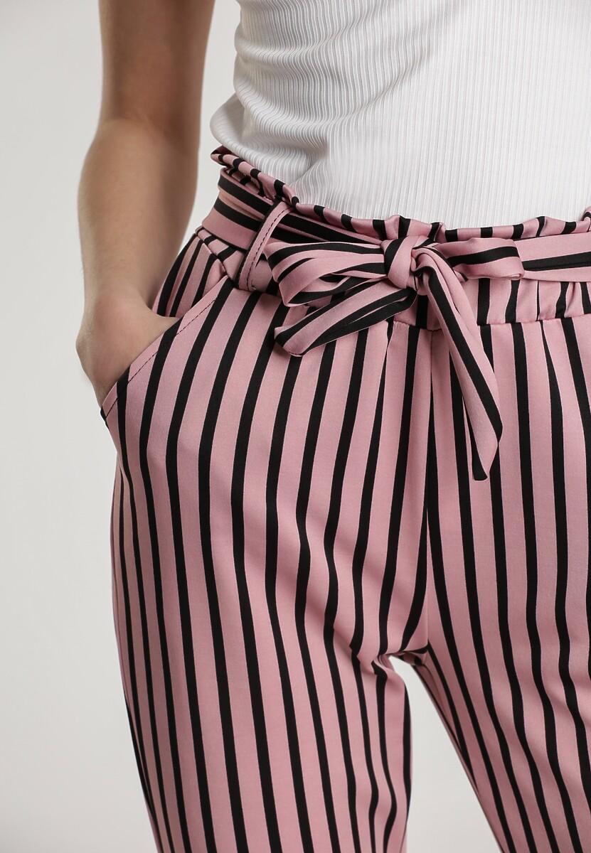 Różowe Spodnie Moremelle