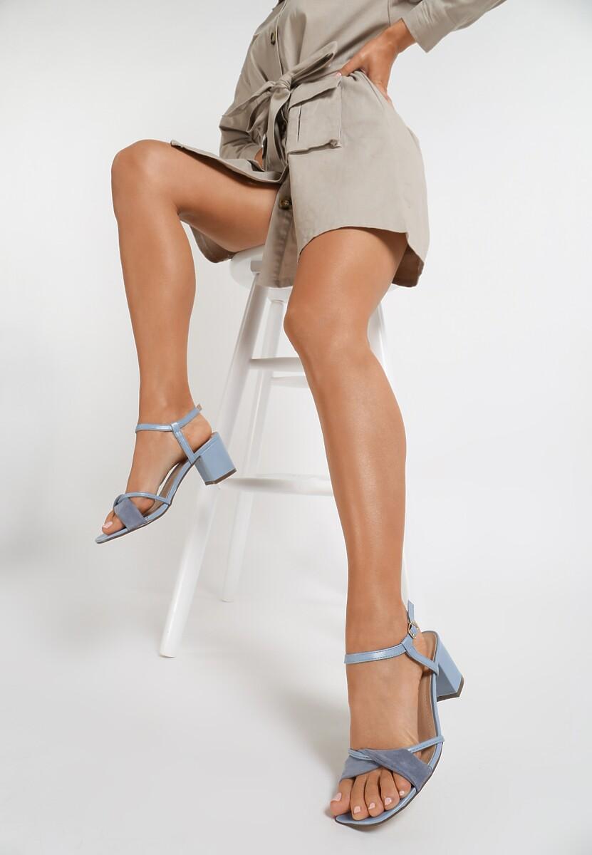 Niebieskie Sandały Sereineva Kod produktu: 115573