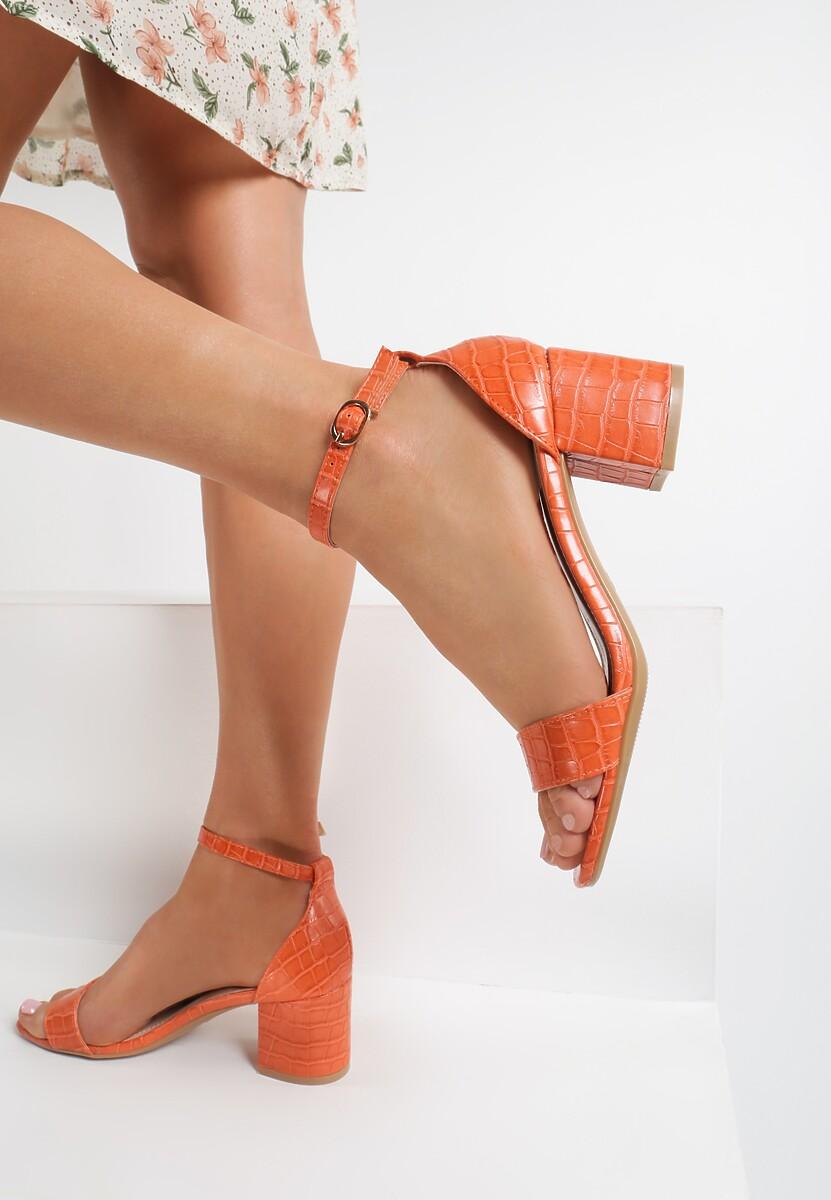 Pomarańczowe Sandały Arriemala Kod produktu: 115605
