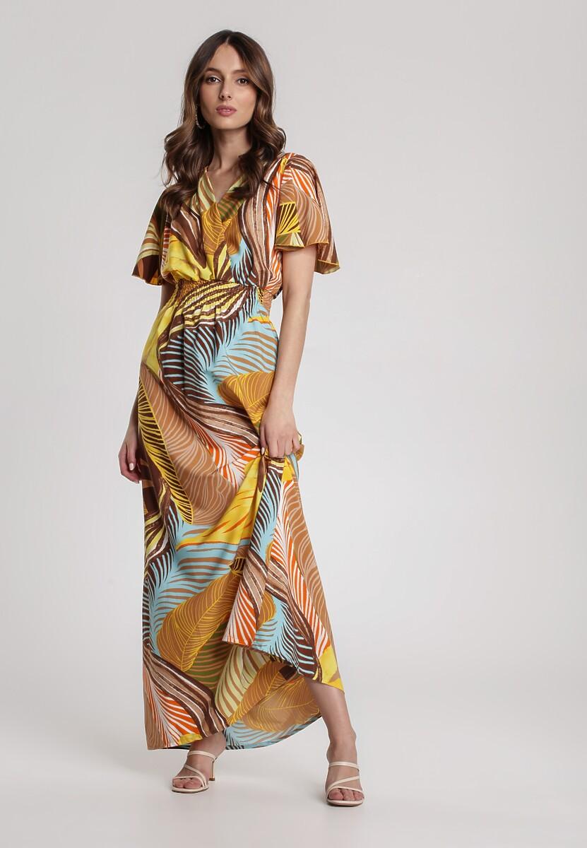 Ciemnobeżowa Sukienka Nautiria Kod produktu: 115834