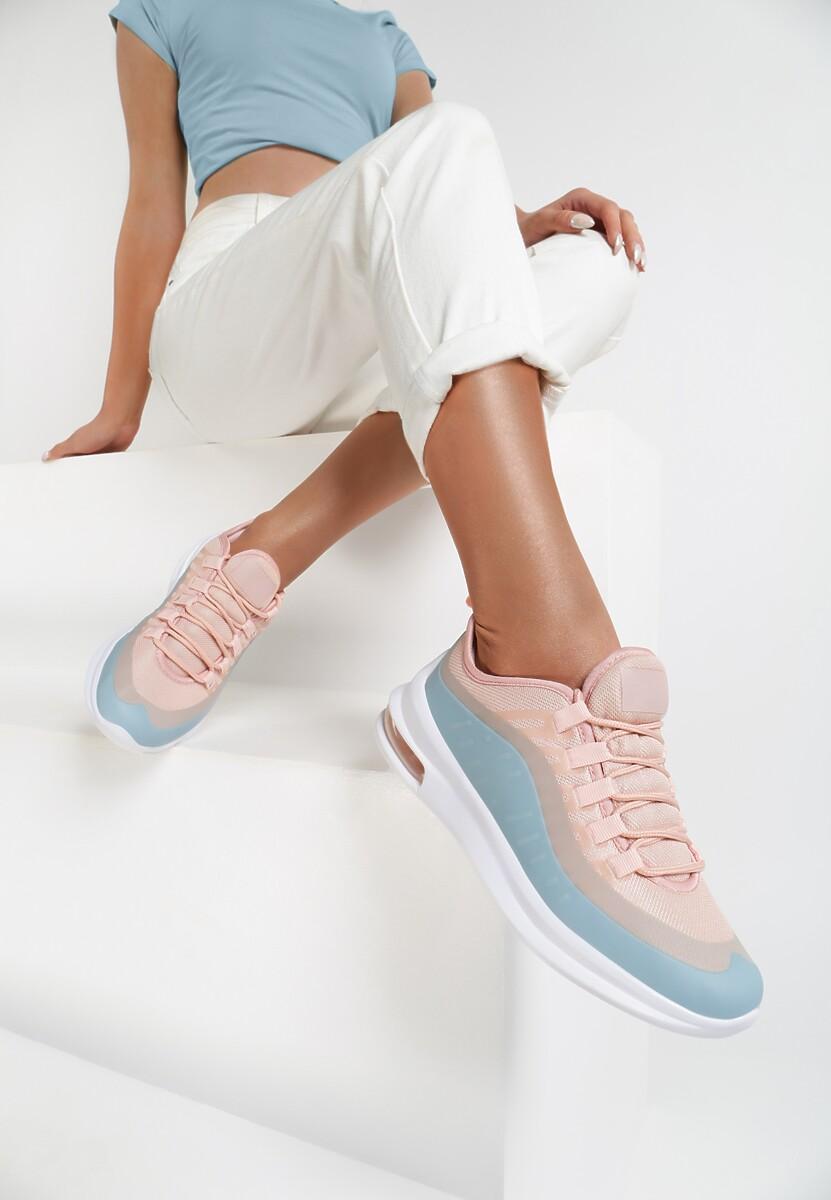 Różowo-Niebieskie Sneakersy Quburn