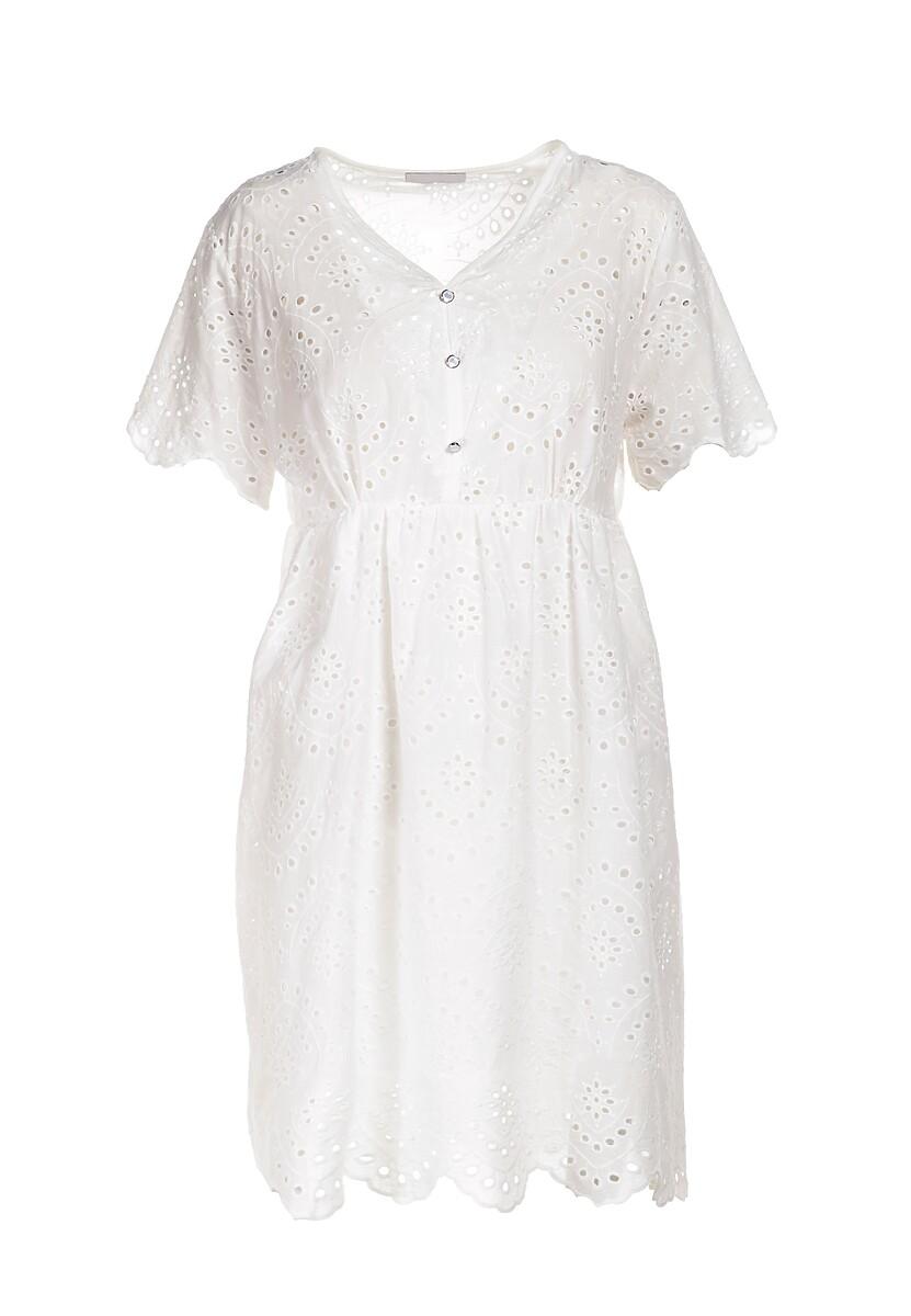 Biała Sukienka Aethena