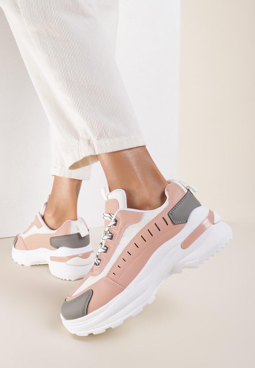 Różowe Sneakersy Brethose