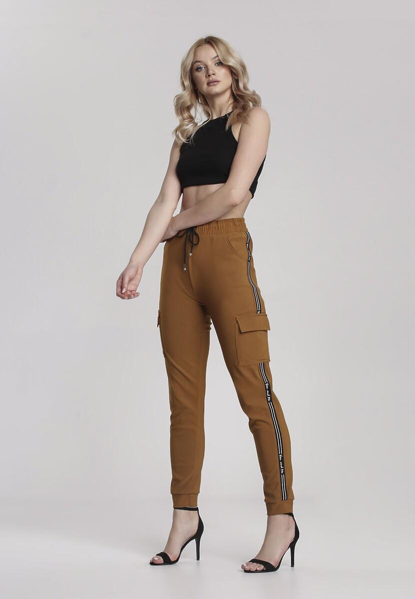 Camelowe Spodnie Acalethoe
