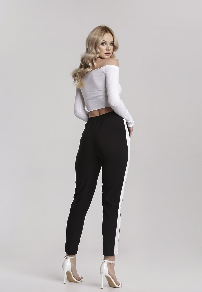 Czarne Spodnie Alariye