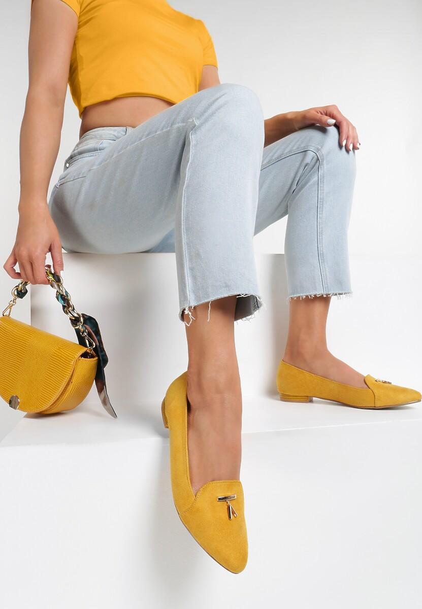 Żółte Mokasyny Dorianeh Kod produktu: 117064