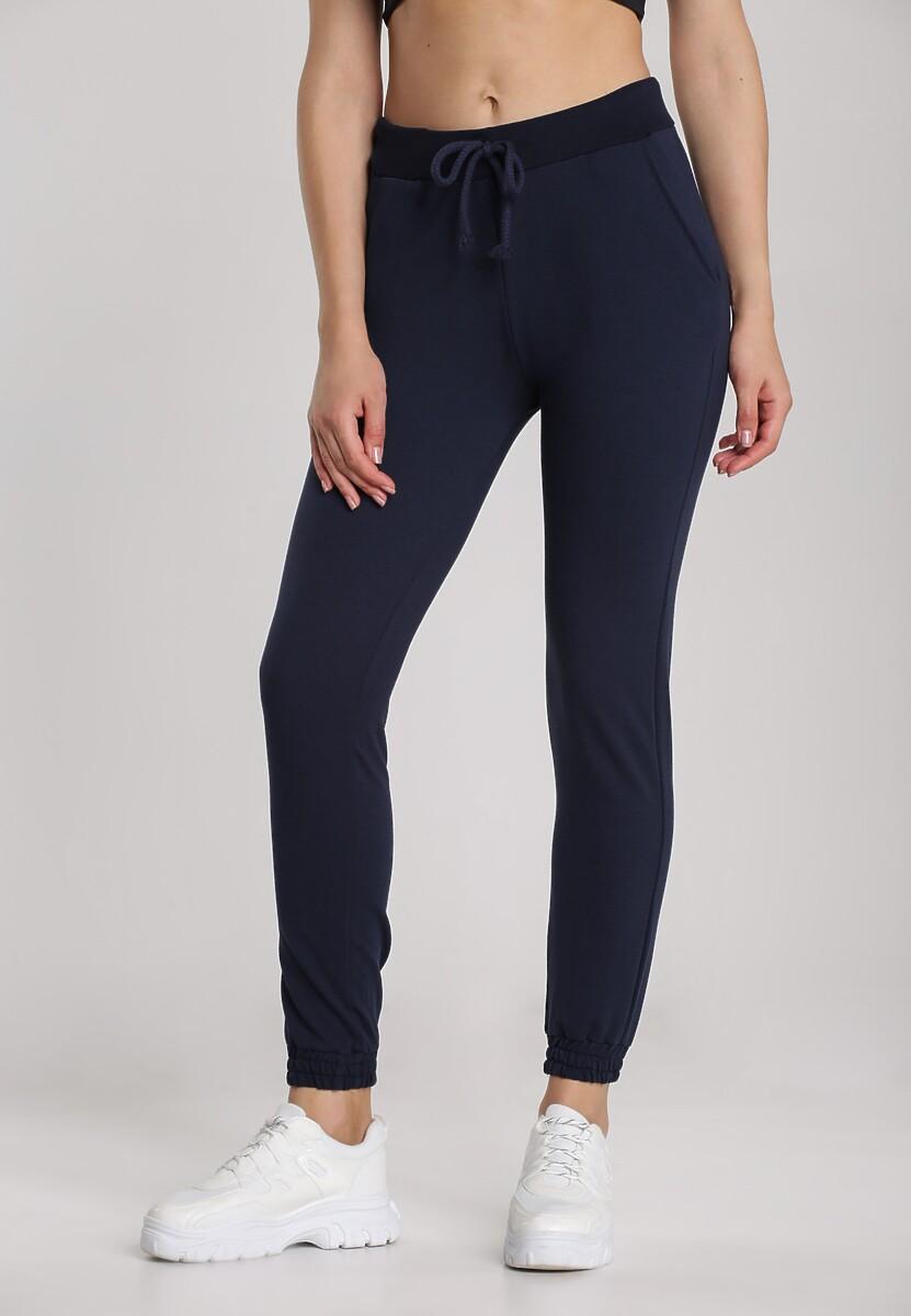 Granatowe Spodnie Muririnda Kod produktu: 117860
