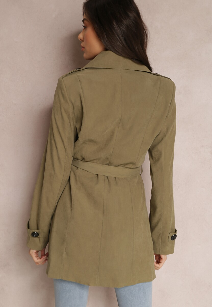 Zielony Płaszcz Diolophi