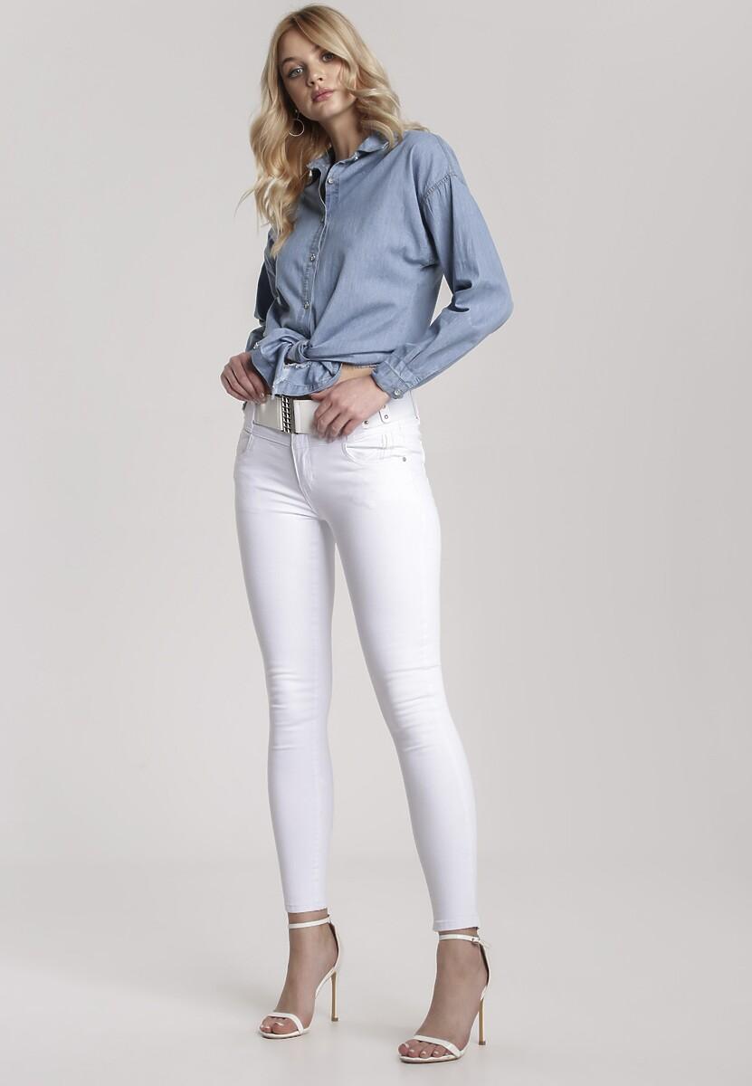 Białe Spodnie Geninia