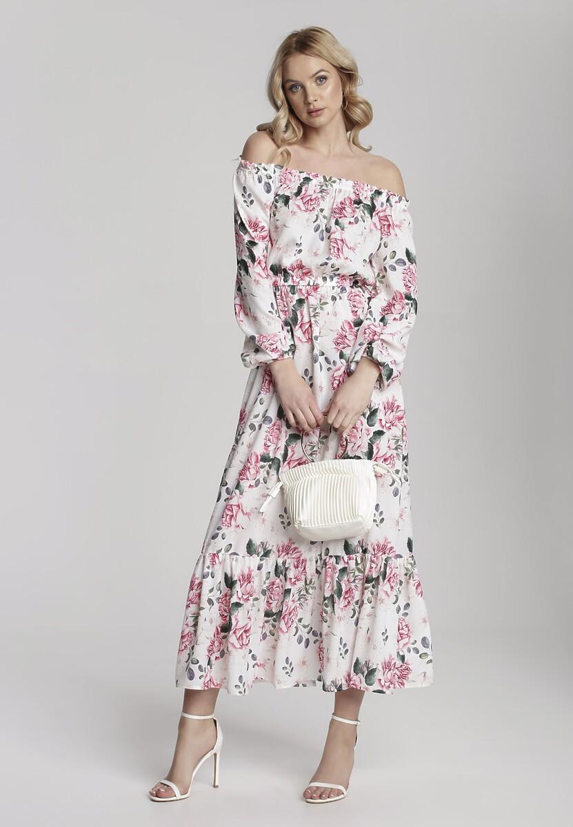 Biała Sukienka Adranos