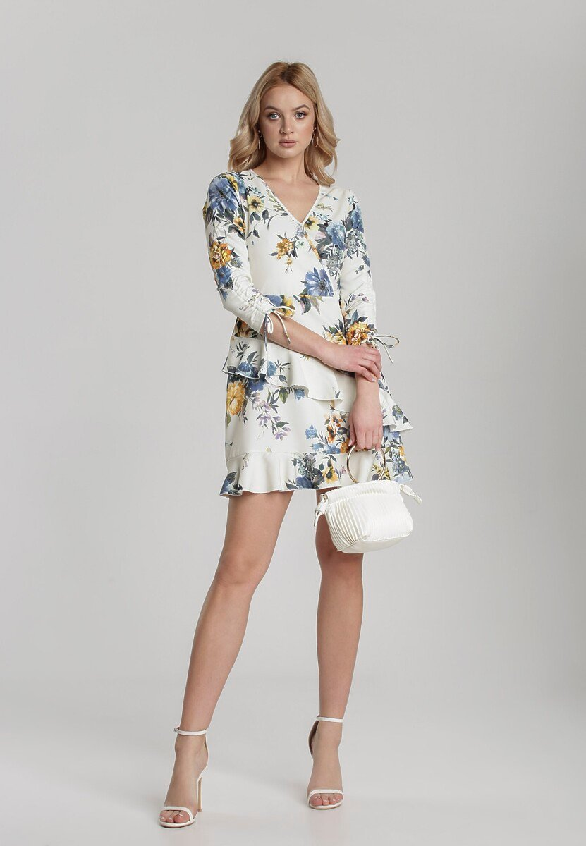 Kremowa Sukienka Callaneh