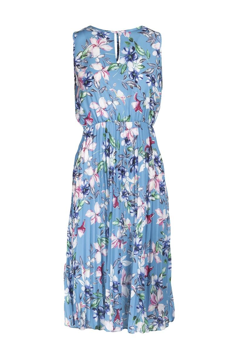 Niebieska Sukienka Pereithelia
