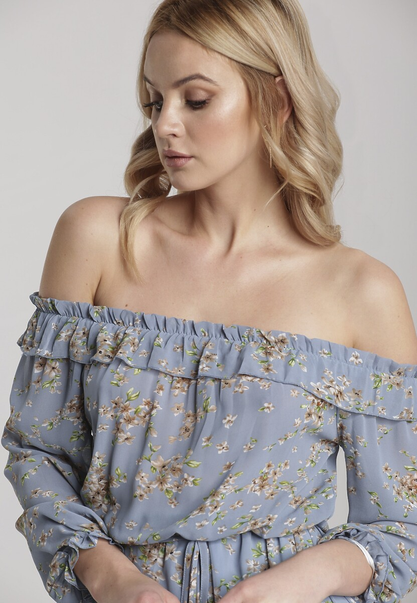Niebieska Sukienka Viviathia