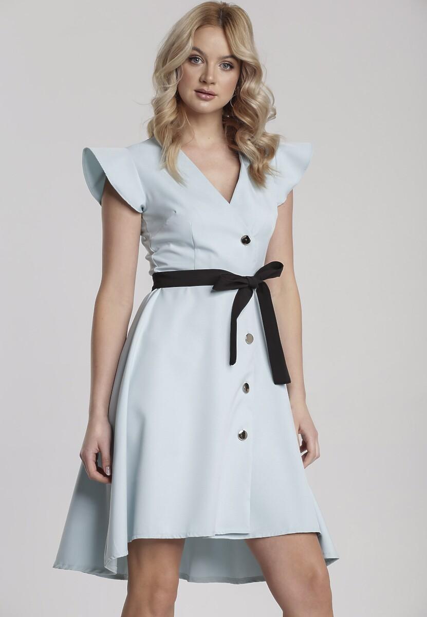 Jasnoniebieska Sukienka Coreanah
