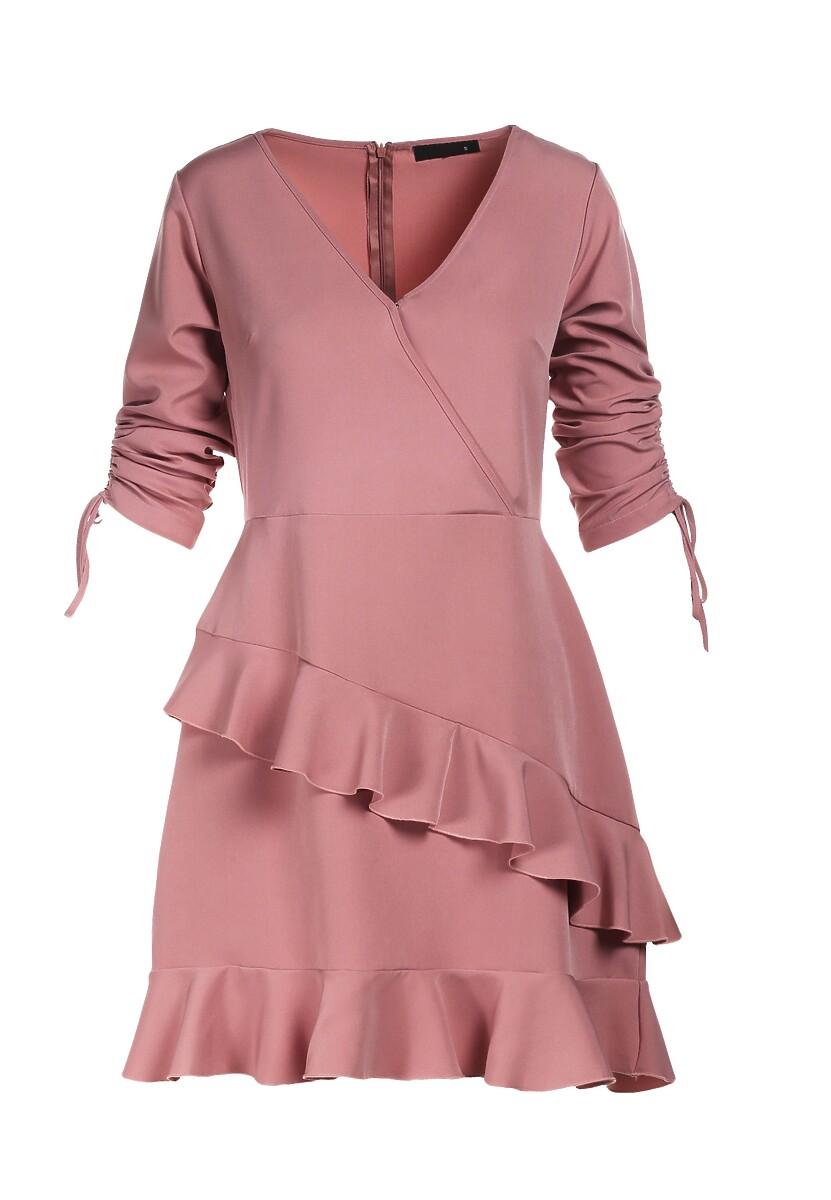 Różowa Sukienka Synapheme