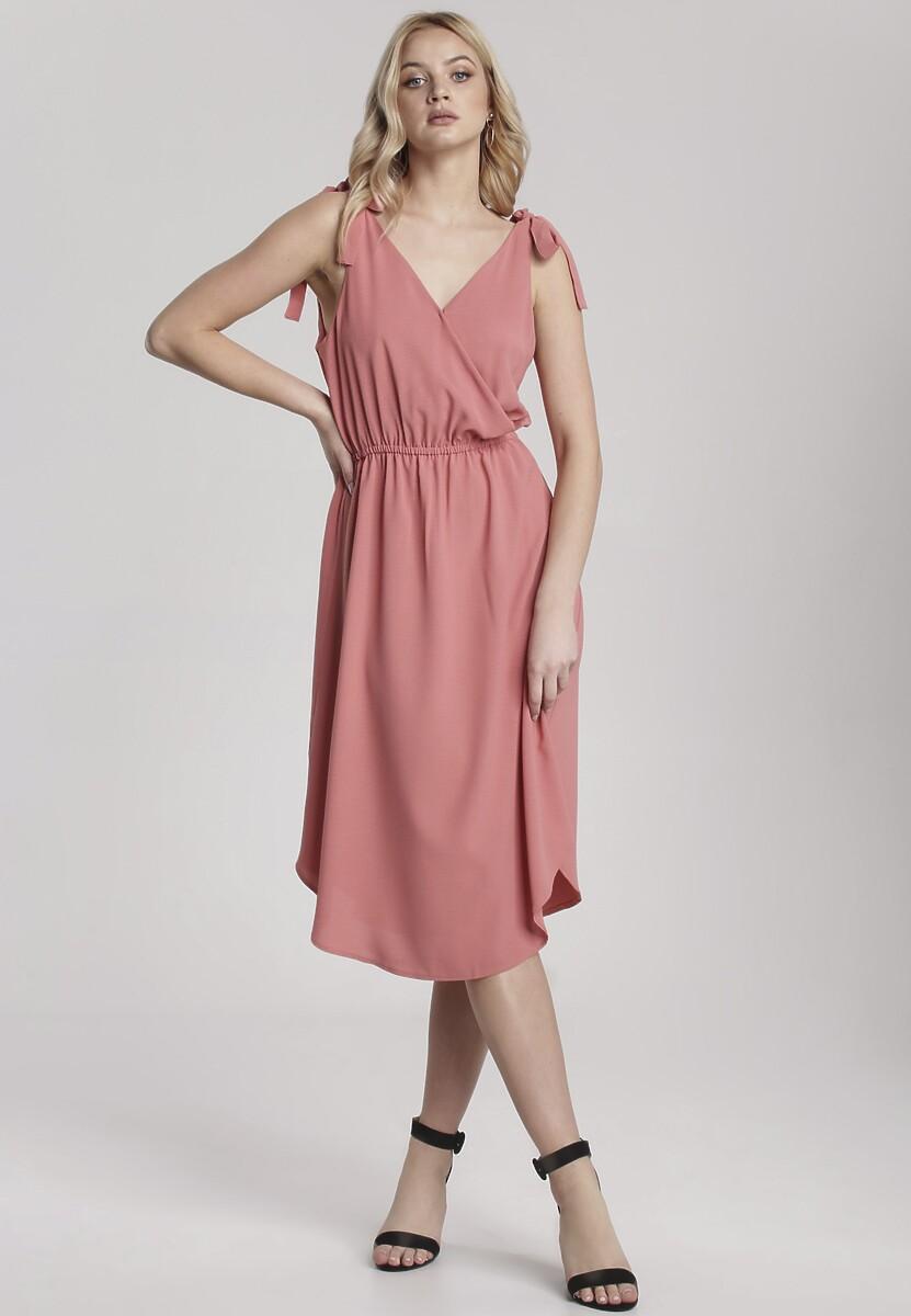 Różowa Sukienka Hysura