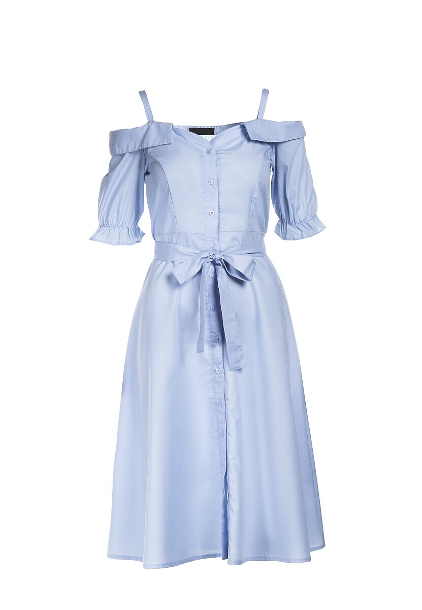 Jasnoniebieska Sukienka Evinoe