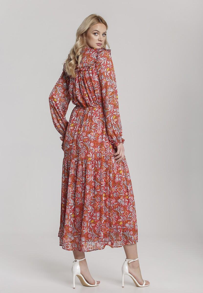 Czerwona Sukienka Aanya