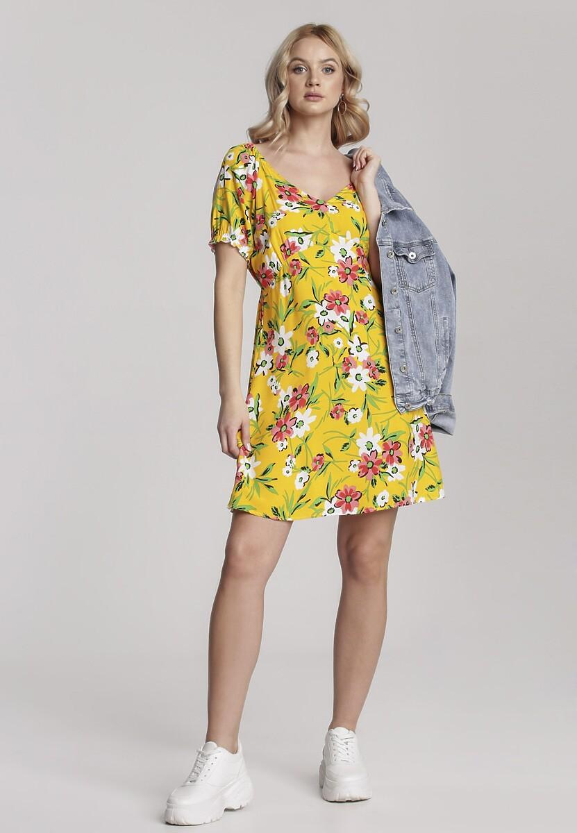 Żółta Sukienka Maryrina
