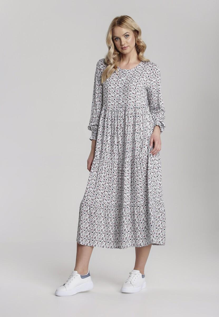 Biała Sukienka Aquarinda