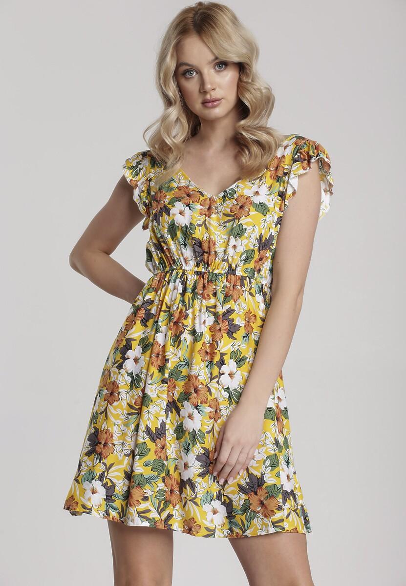 Żółta Sukienka Kelaleia