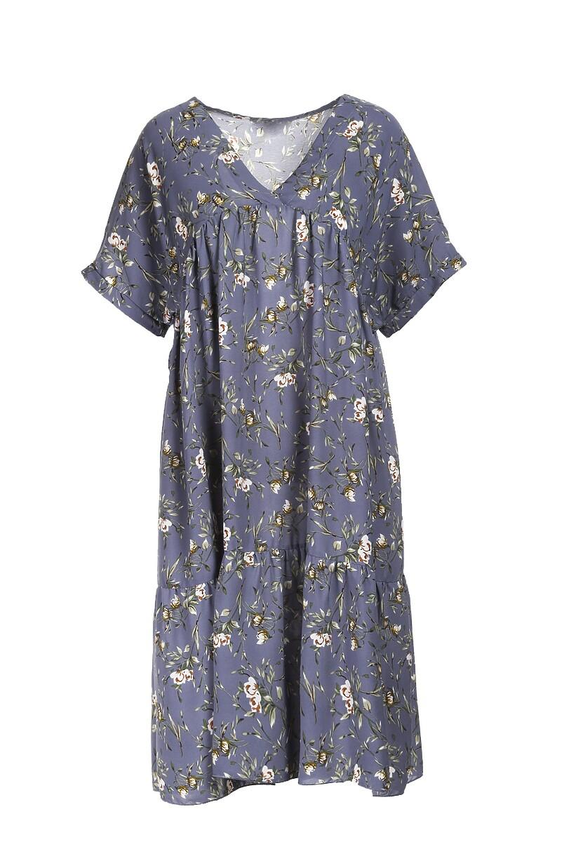 Jasnoniebieska Sukienka Aiganophe