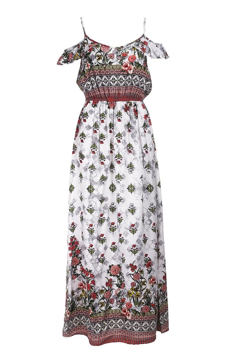 Biała Sukienka Arilla