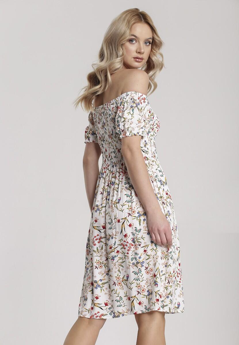 Biała Sukienka Orasura
