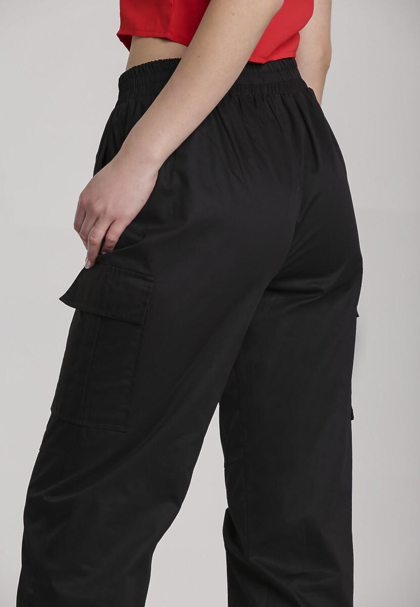 Czarne Spodnie Halitina