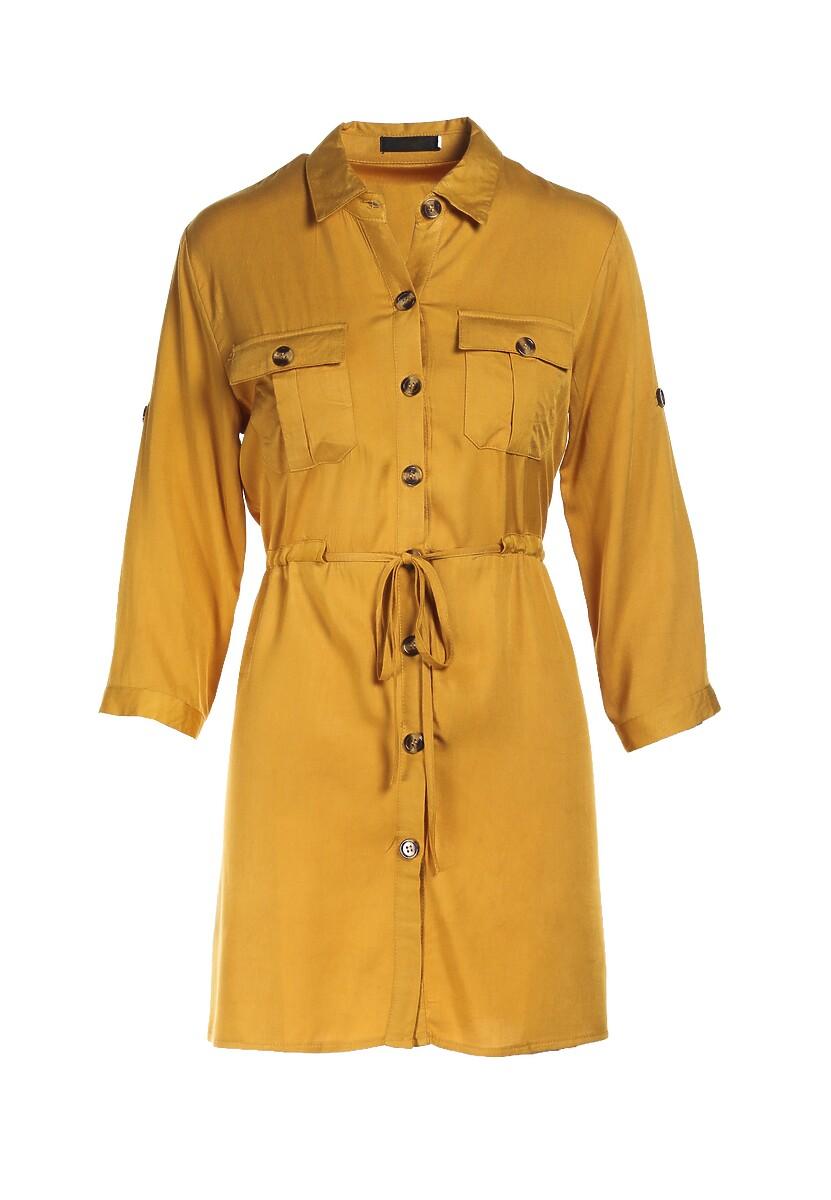 Żółta Koszula Aerilin