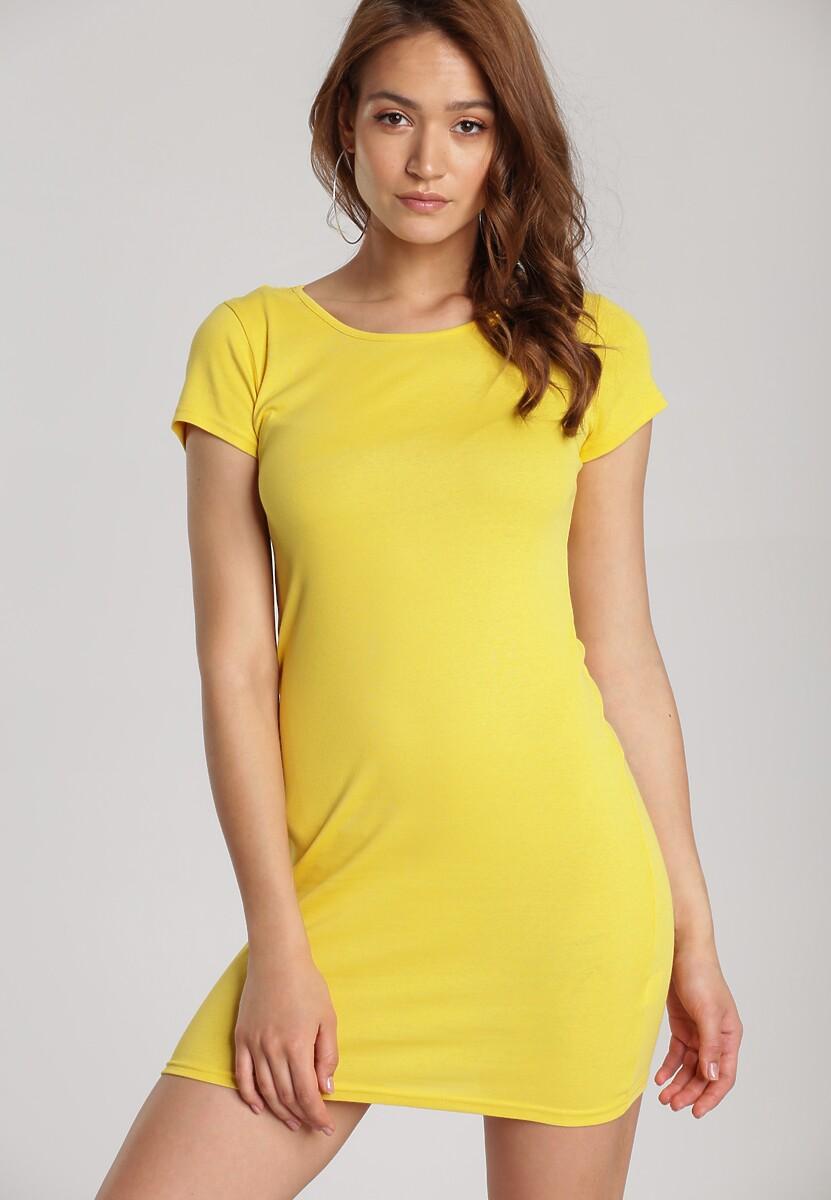 Żółta Sukienka Myscia