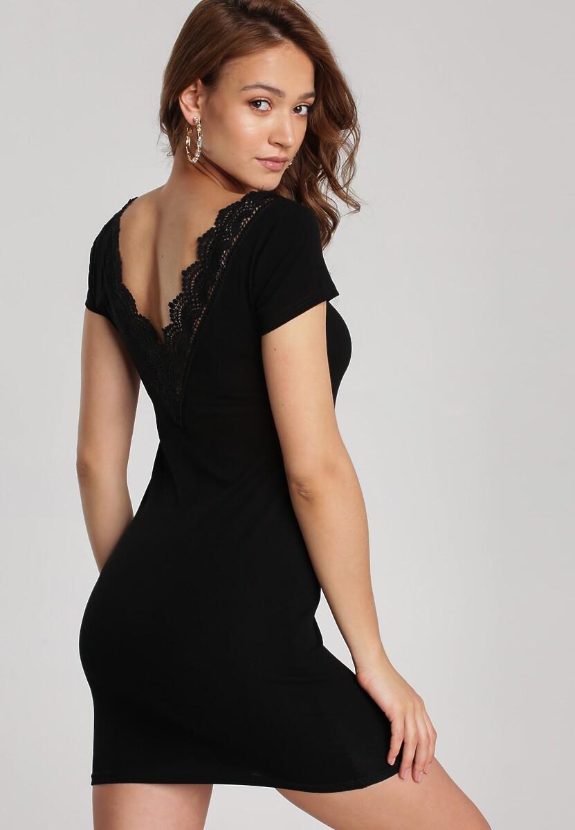 Czarna Sukienka Myscia