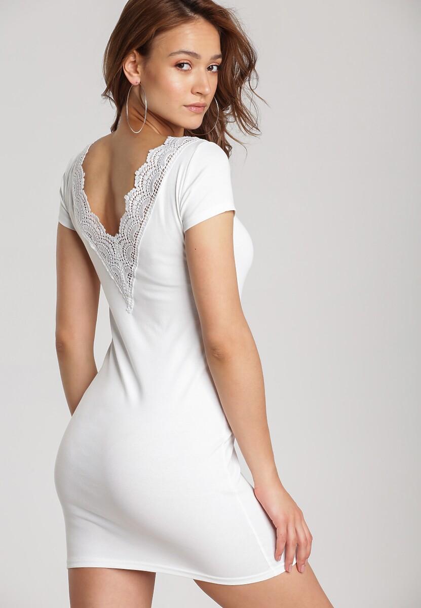 Biała Sukienka Myscia