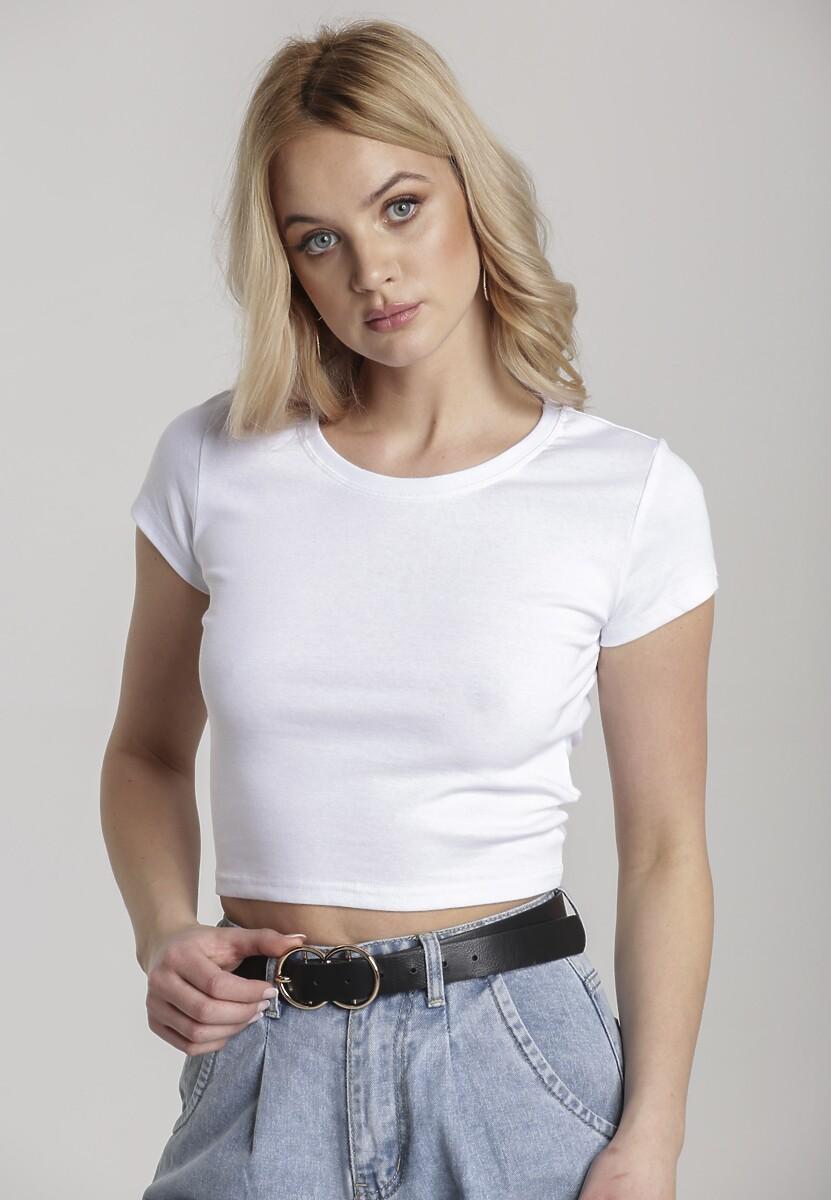 Biały T-shirt Corrarial