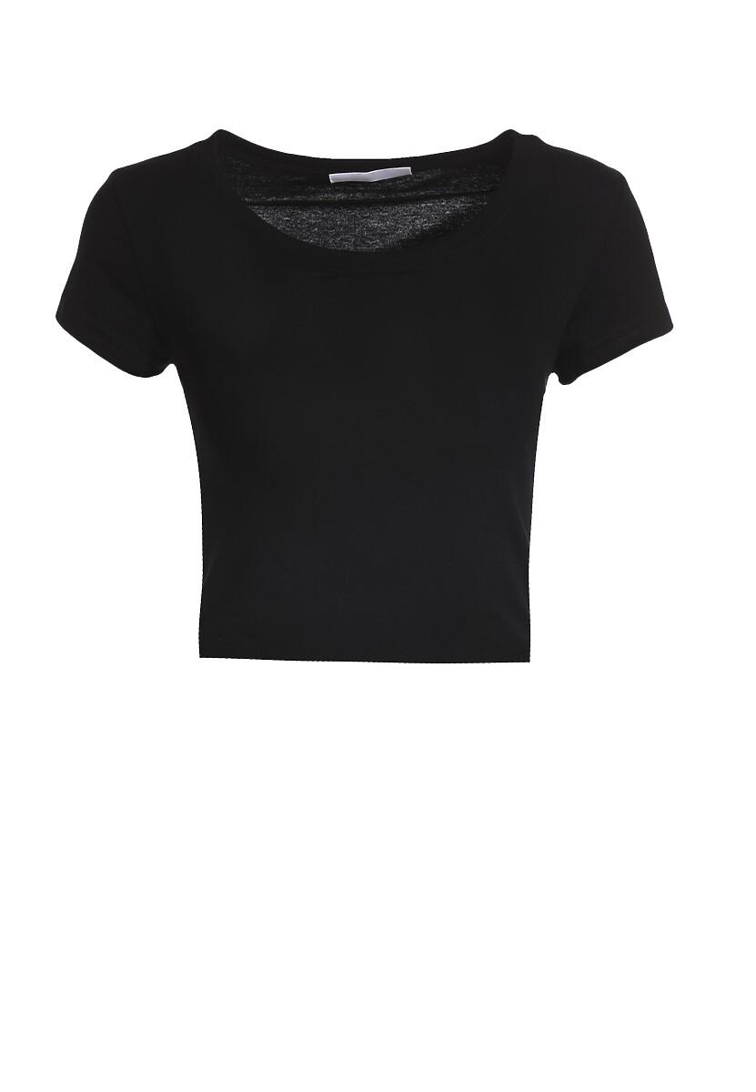 Czarny T-shirt Corrarial