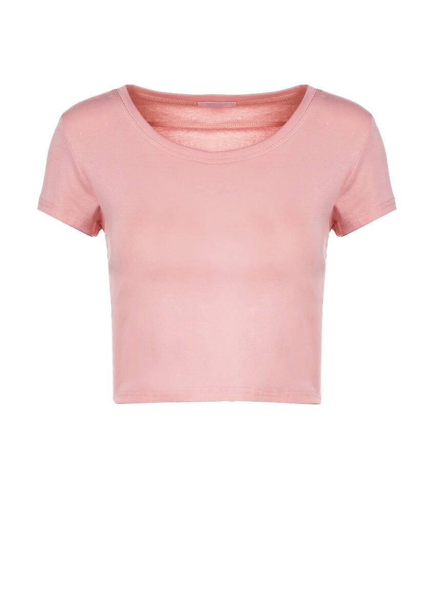 Jasnoróżowy T-shirt Corrarial