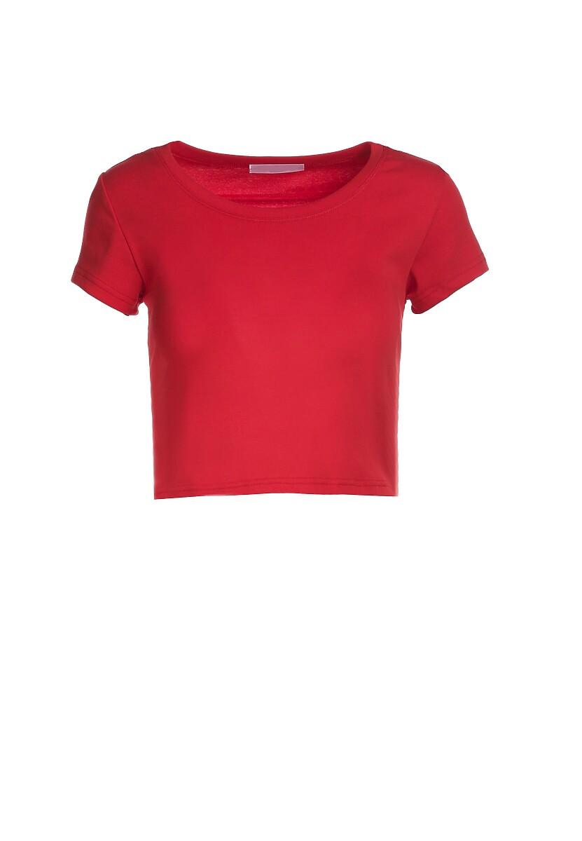 Czerwony T-shirt Corrarial