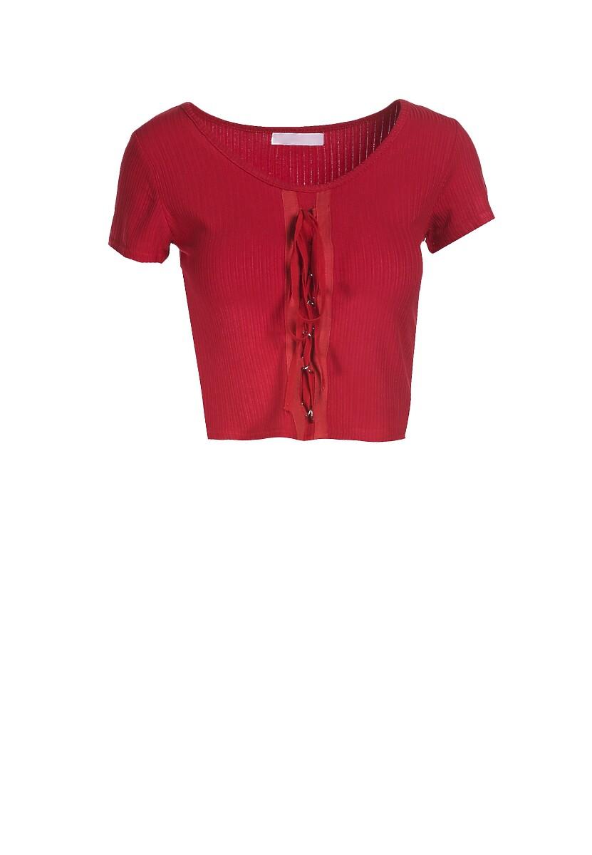 Czerwona Bluzka Zhanella