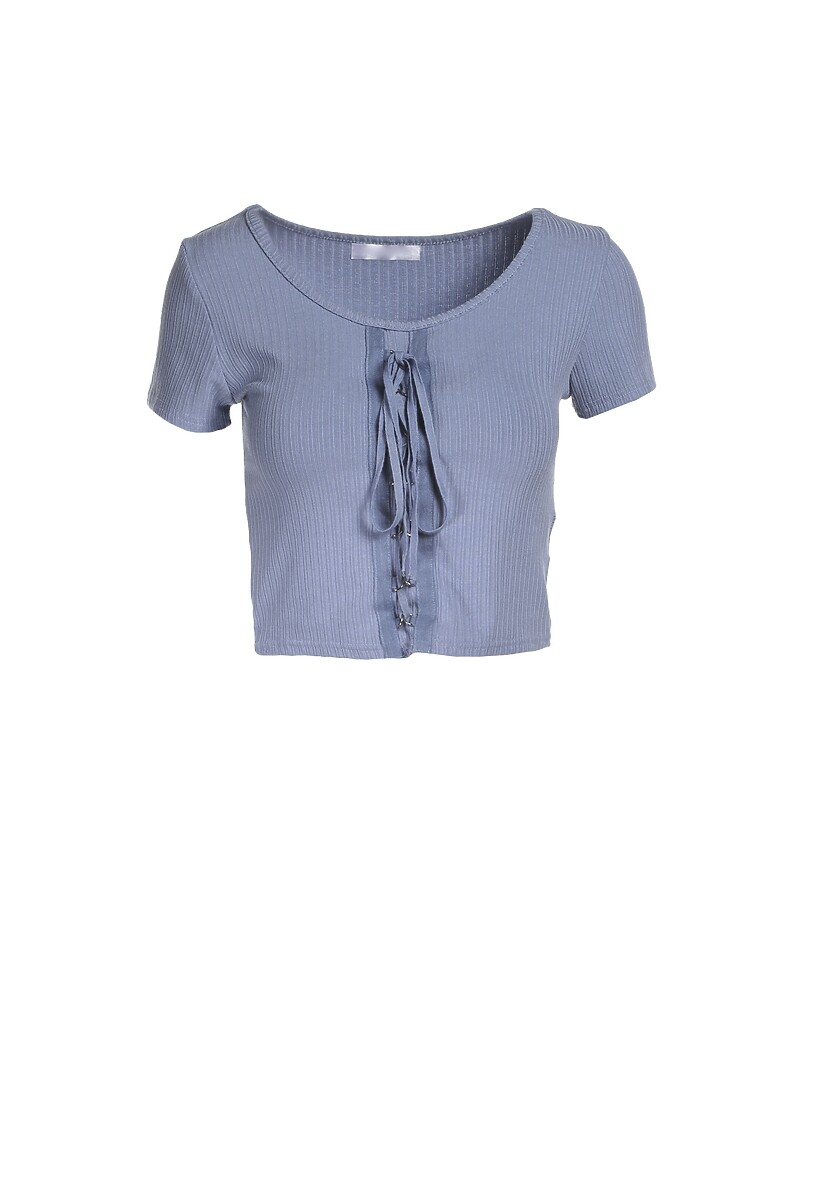 Niebieska Bluzka Zhanella