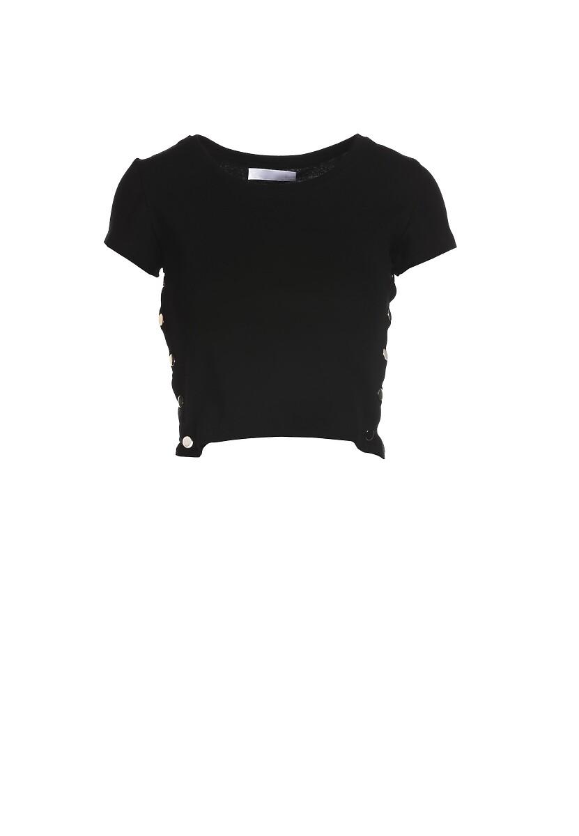 Czarny T-shirt Malato