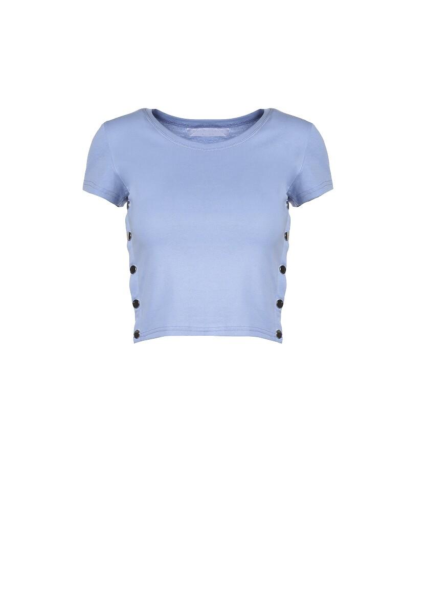 Jasnoniebieski T-shirt Malato